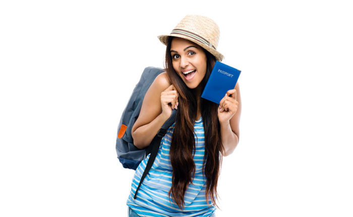 women-with-password-and-travelbag